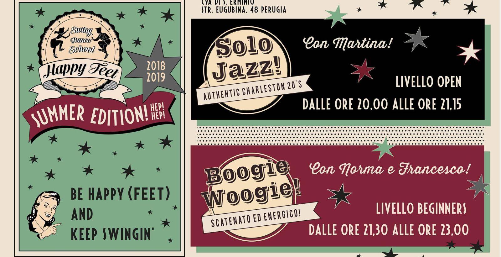 promo code 35bfc d83ac CORSI DI BALLO SWING- SUMMER EDITION!! - Happy Feet Perugia